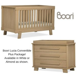 Boori Lucia Convertible Plus Nursery Package