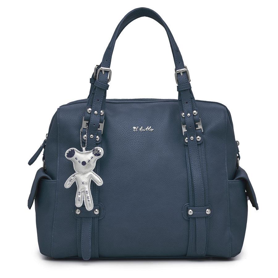 Il Tutto Nico Navy Tote Nappy Bag