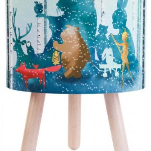 Wild Imagination Lamp Blue