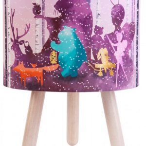Wild Imagination Lamp Pink