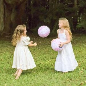 Rainbows and Clover Balloon Ball