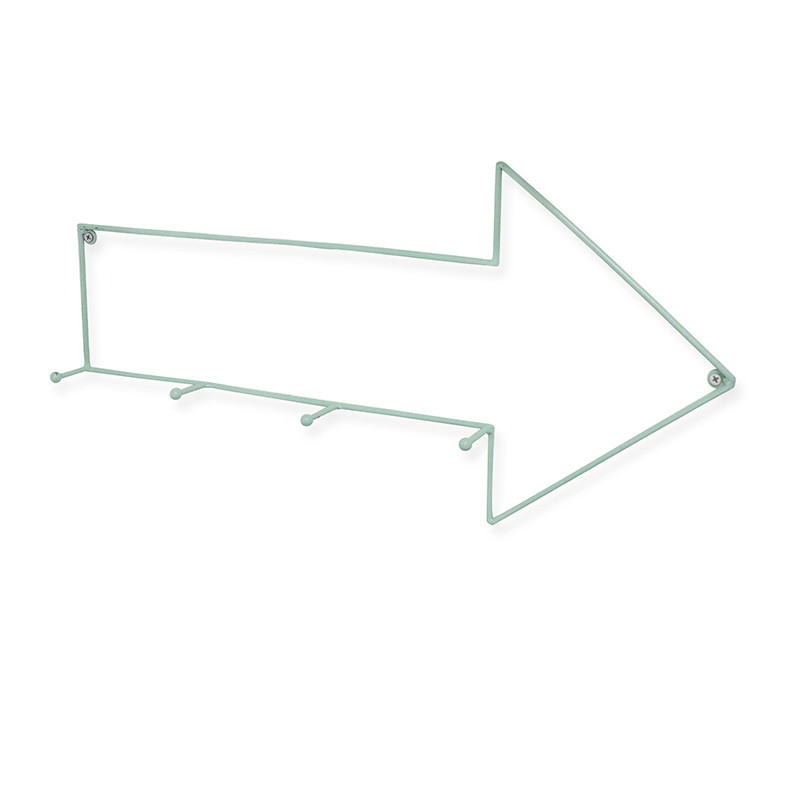 Madras Link Blue Arrow Wall Hook