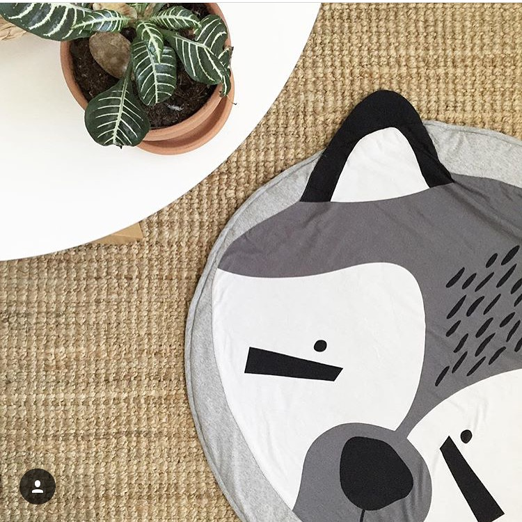 Mister Fly Raccoon Play Mat