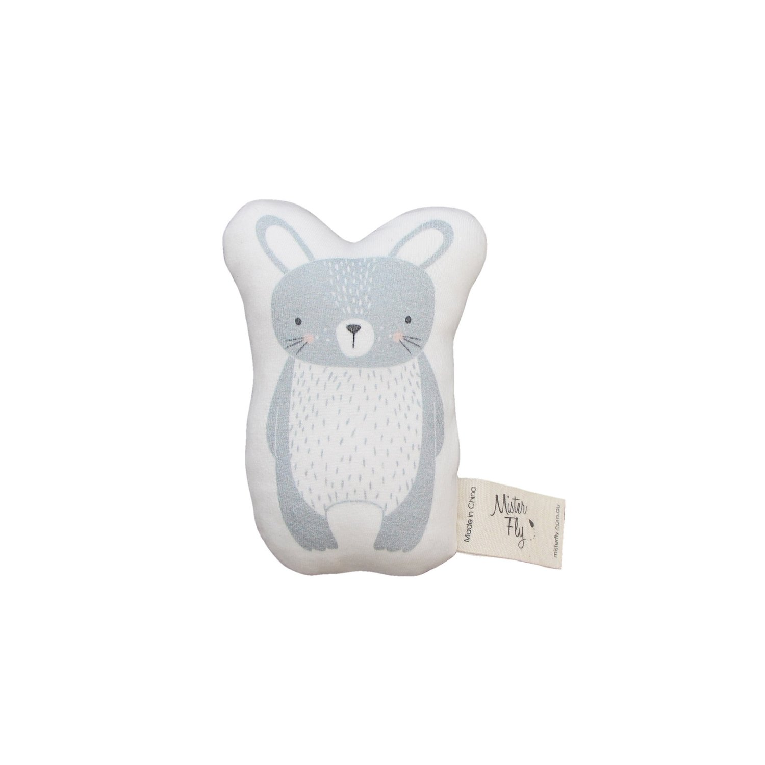 Mister Fly Bunny Rattle