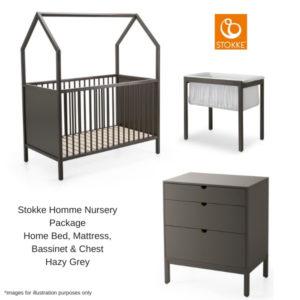 Stokke Home Nursery Package Hazy Grey