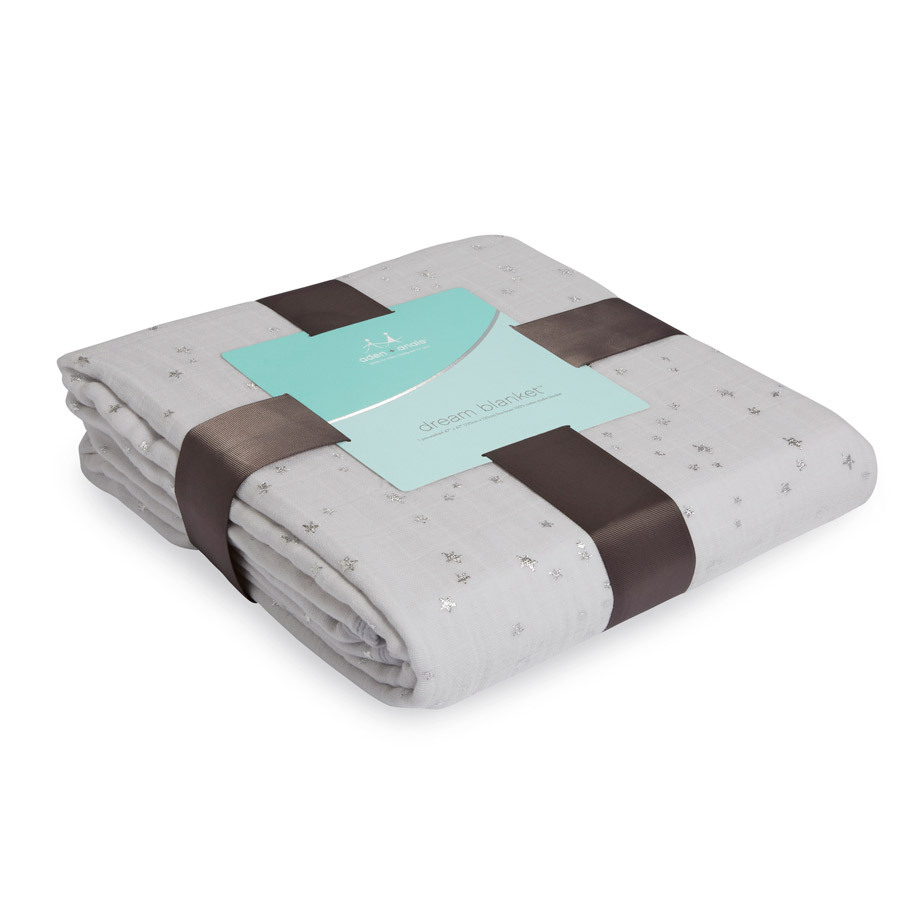 Aden + Anais Metallic Dream Blankets