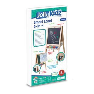 Jolly Kidz Smart 5 in 1 Easel