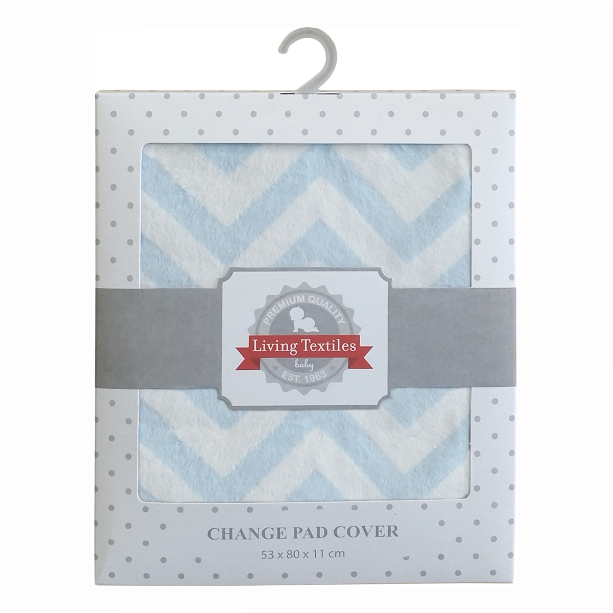 Living Textiles Chevron Change Pad Cover