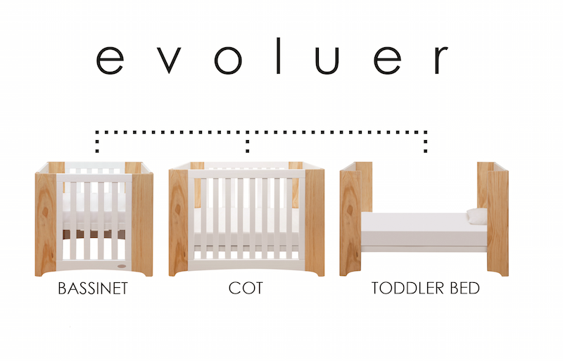 Cocoon Evoluer Cot Mattress Set