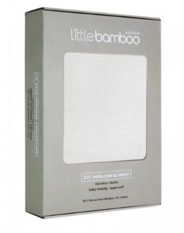 Little Bamboo Heirloom Blanket