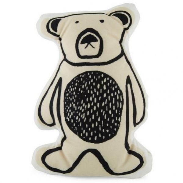 Bear Shaped Cushion