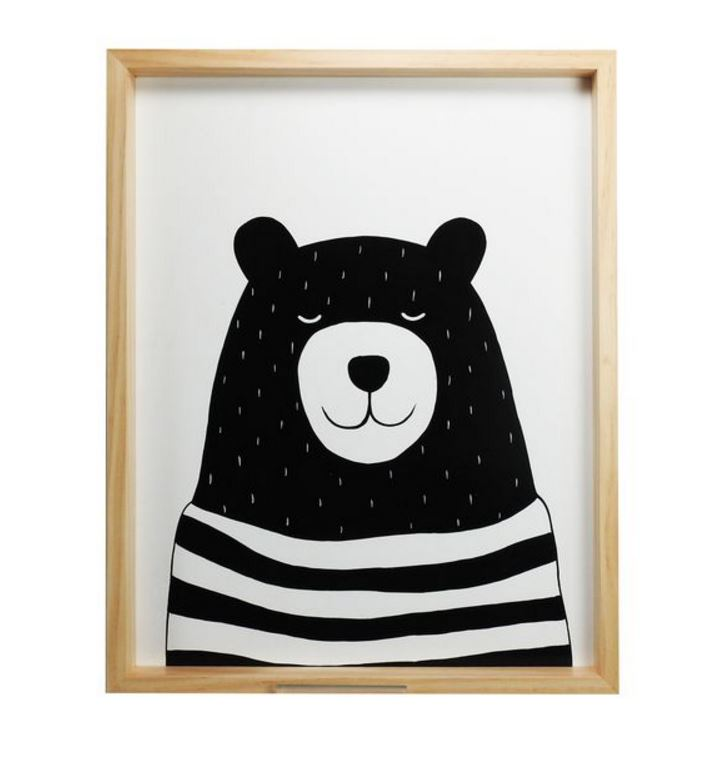Bear Picture Frame