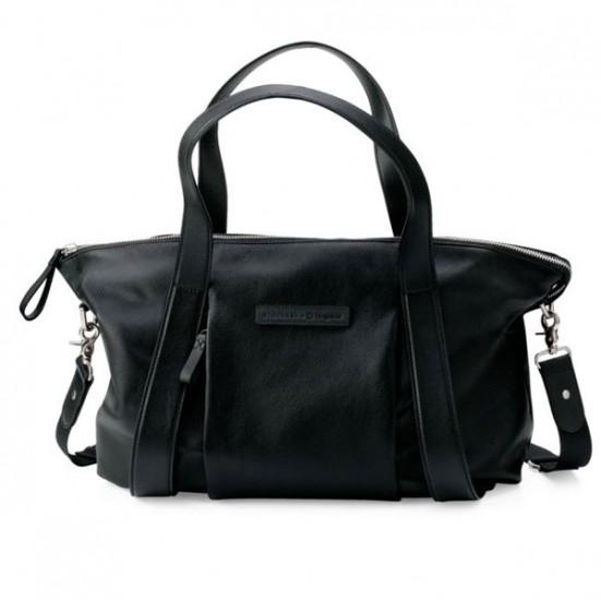 Bugaboo Storksak Leather Bag