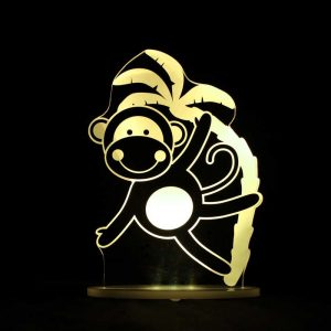 Monkey Night Light