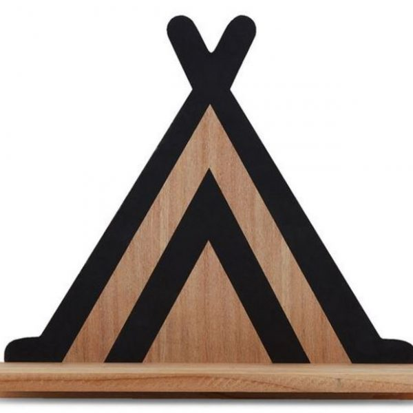 Teepee Wooden Shelf