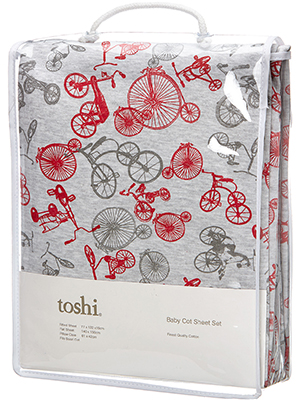 Toshi Trike Cot Sheet Set