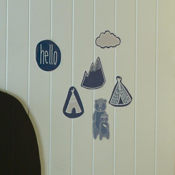 Jiggle and Giggle In The Woods Wall Stickers