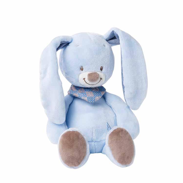 Nattou Cuddly Bibou the Rabbit
