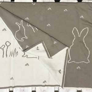 Essence Beige Bunnies Blanket