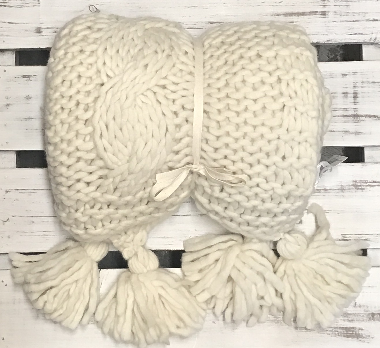 Essence Natural Cable Wool Throw