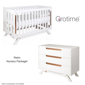 Grotime Retro Nursery Package