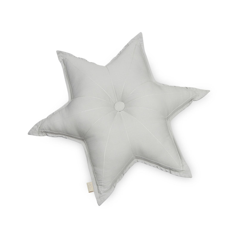 Cam Cam Grey Star Cushion