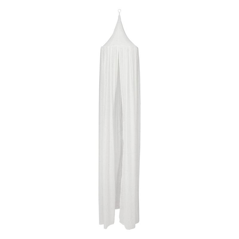 Cam Cam Off White Bed Canopy