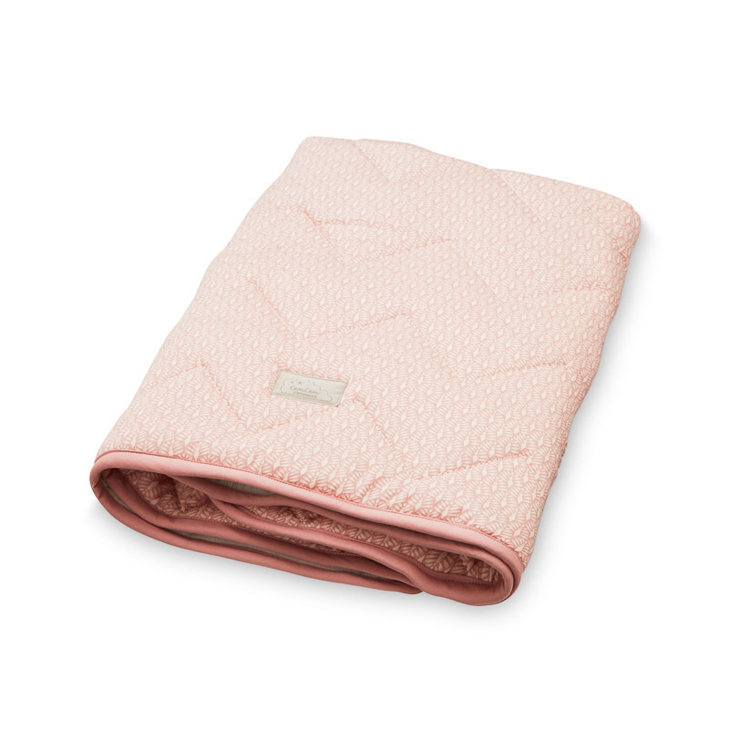 Cam Cam Old Rose Peacock Baby Blanket