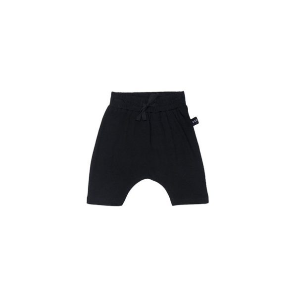 hux black shorts