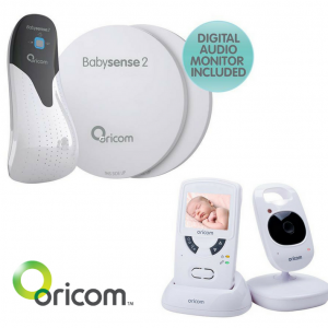 Oricom Babysense2 and Secure 705 Digital Baby Monitor