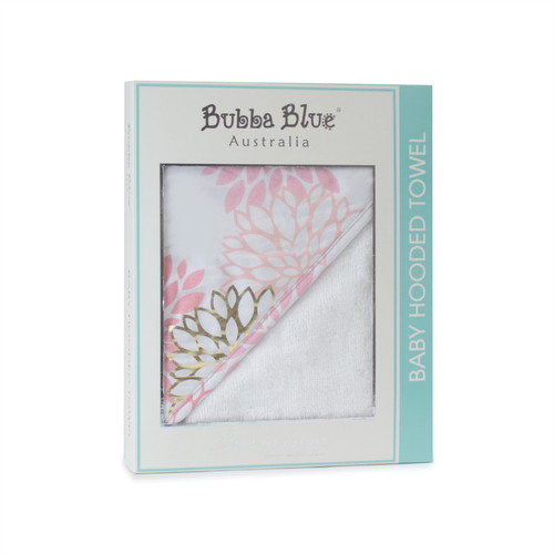 Bubba Blue Flamingo Hooded Towel
