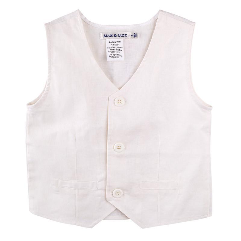 Designer Kidz Toby Linen Vest