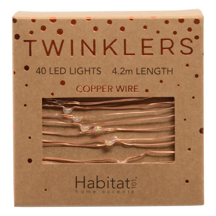 Habitat Copper Twinklers