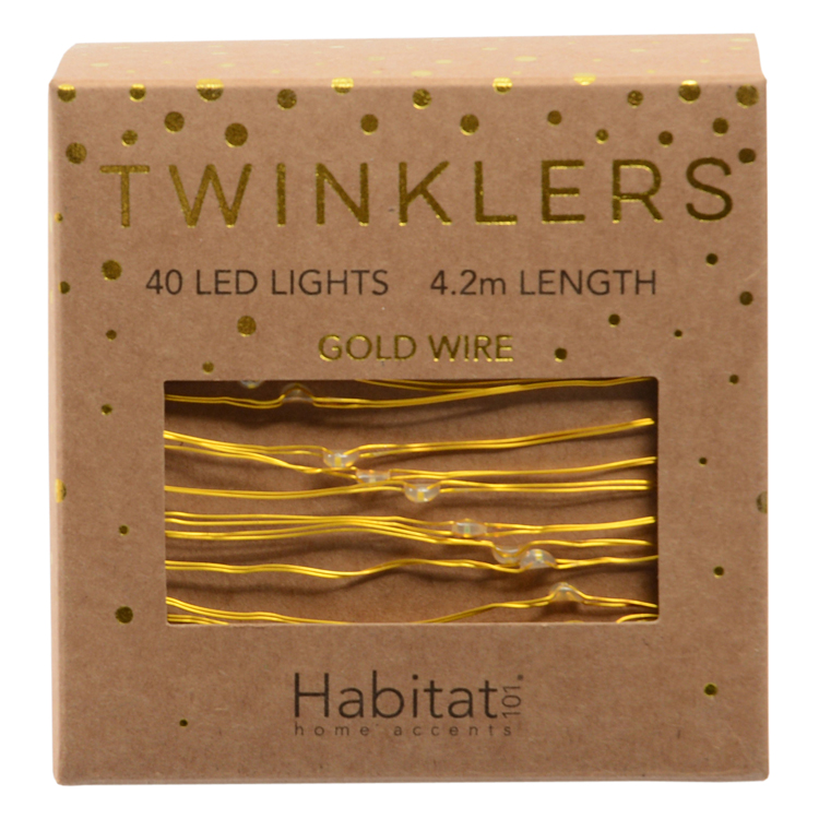 Habitat Gold Twinklers