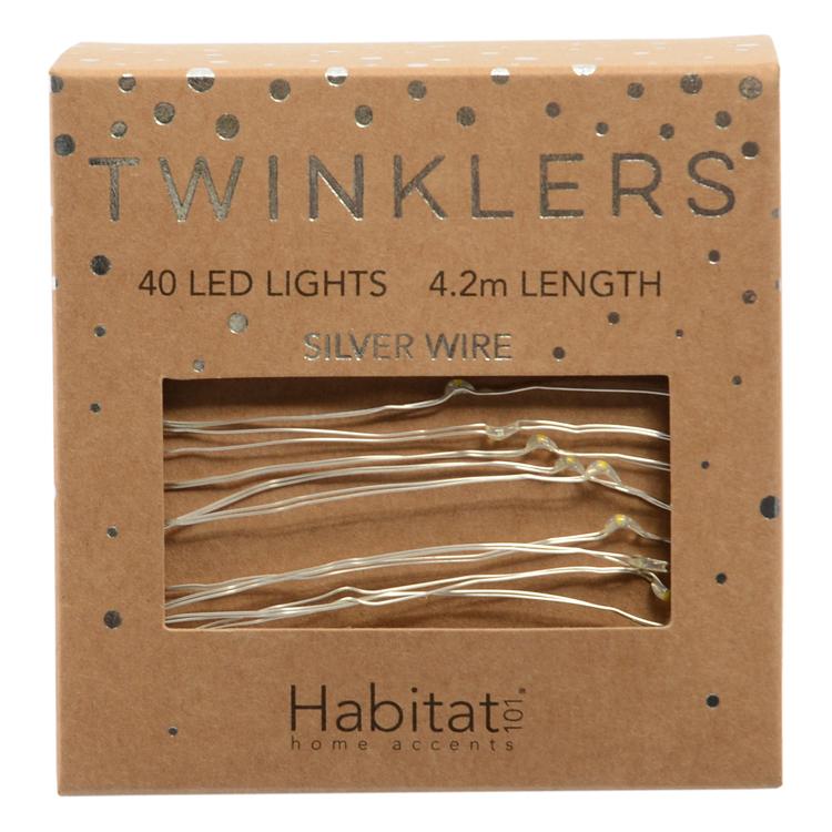 Habitat Silver Twinklers