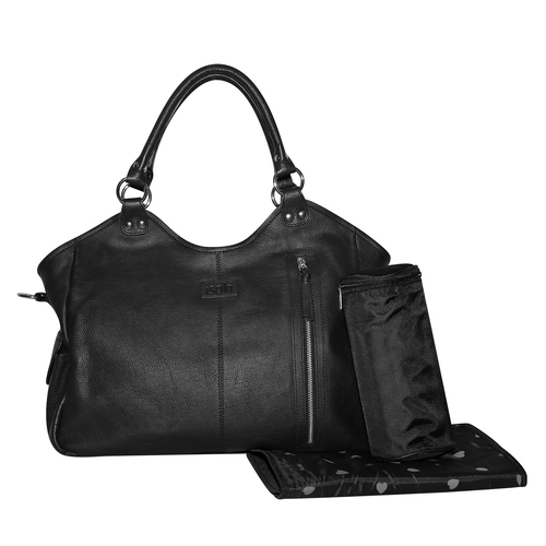 Isoki Newtown Leather Hobo Angel Nappy Bag
