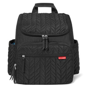 Skip Hop Jet-Black Forma Backpack