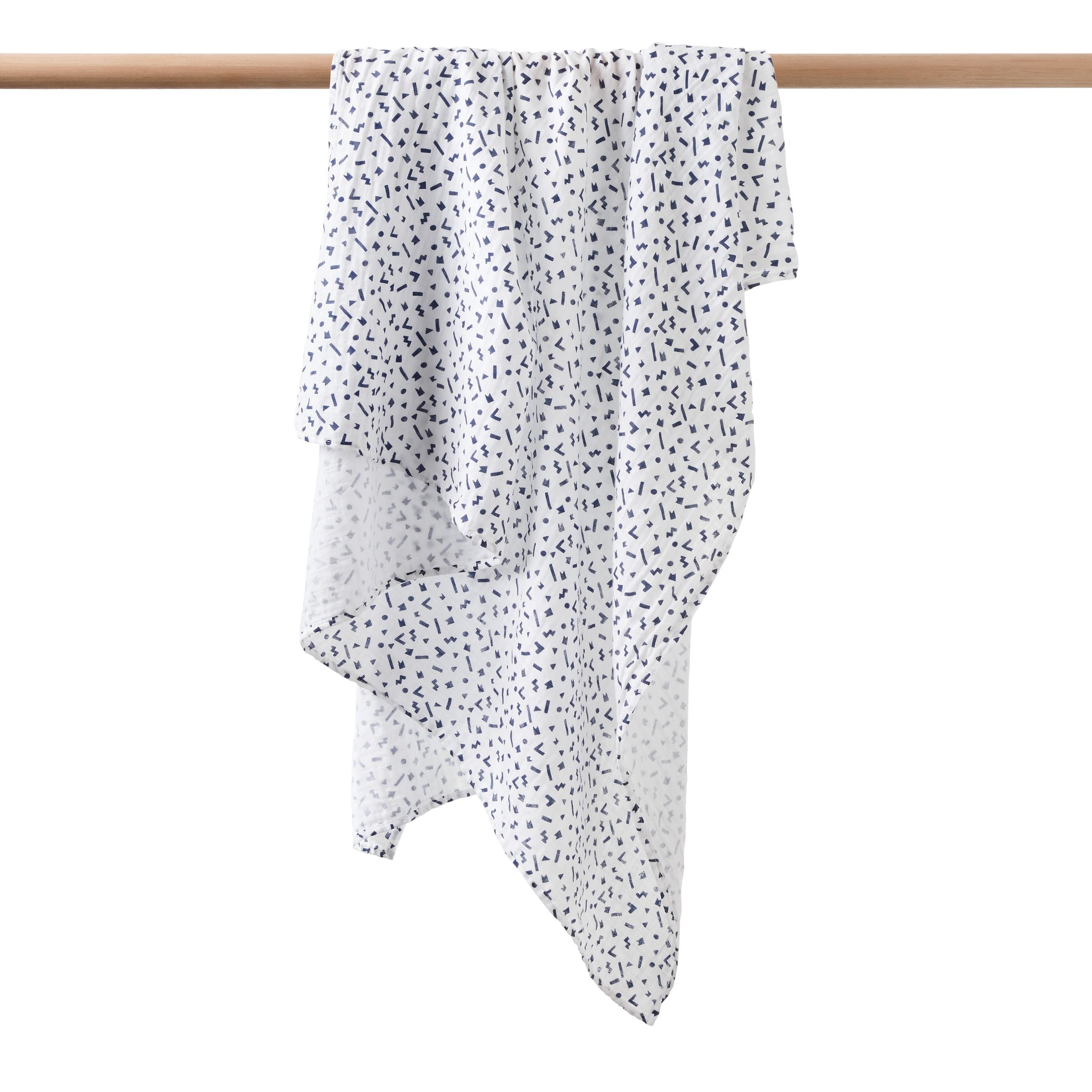 Wilson and Frenchy Geo Play Muslin Wrap