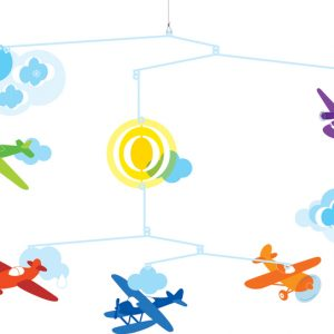 Djeco Airplanes Mobile