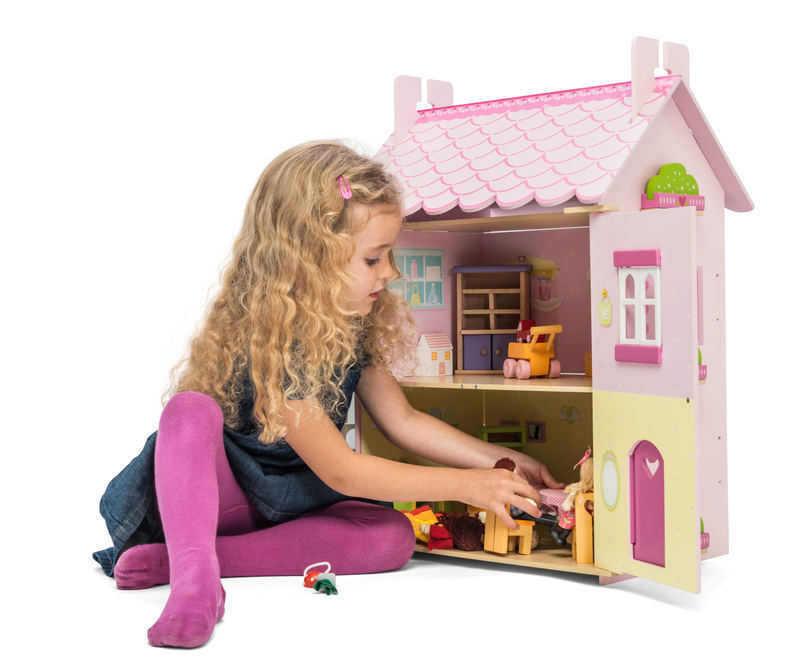 Le toy van my first dream house with furniture babyroad for Dream house days furniture