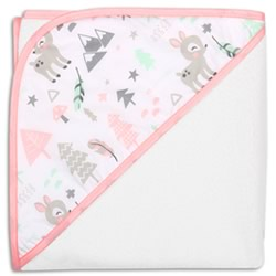 Little Haven Oh Deer Hooded Towel