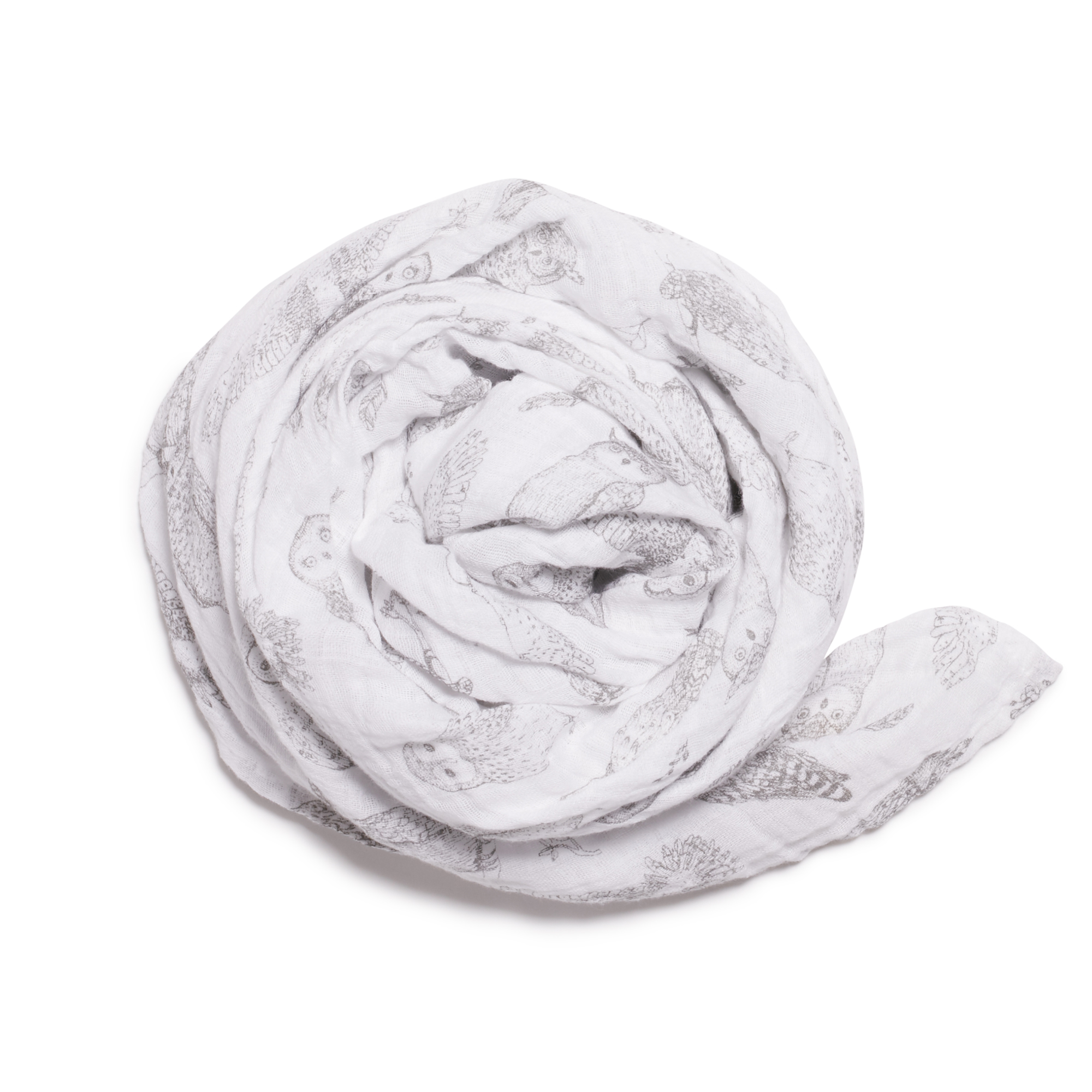 Wilson and Frenchy Little Hoot Muslin Wrap