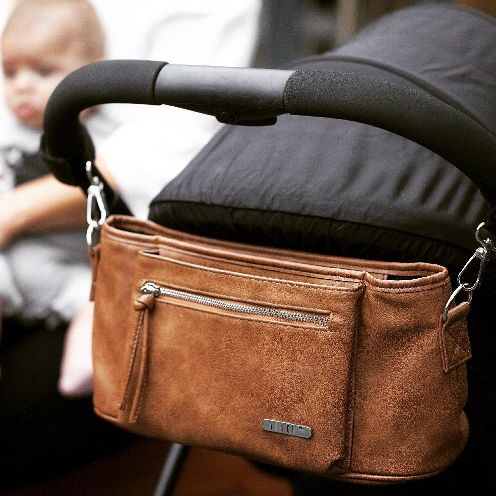 Vanchi Pram Caddy Tan