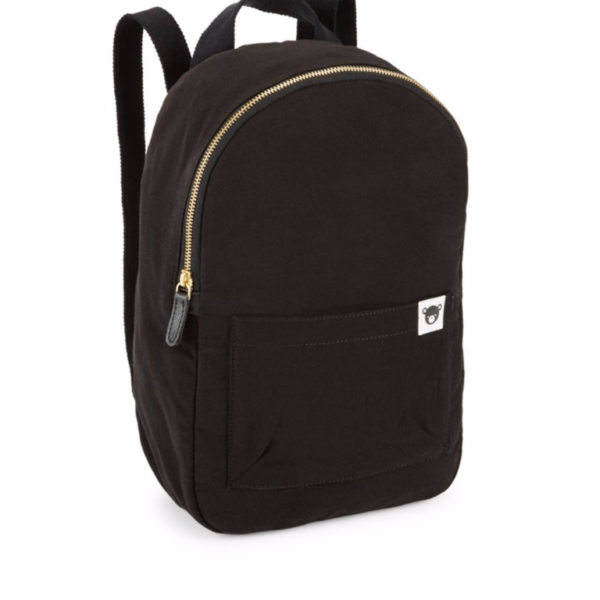 hux black backpack