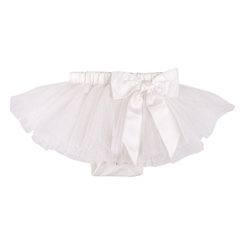 Designer Kidz Arabella White Baby Tutu Skirt