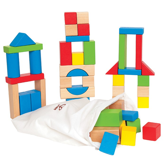 Hape Maple Block Set 50 Pieces