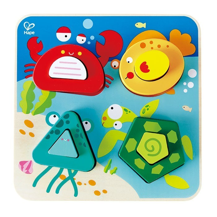 Hape Underwater Escapade Puzzle 8 Pieces