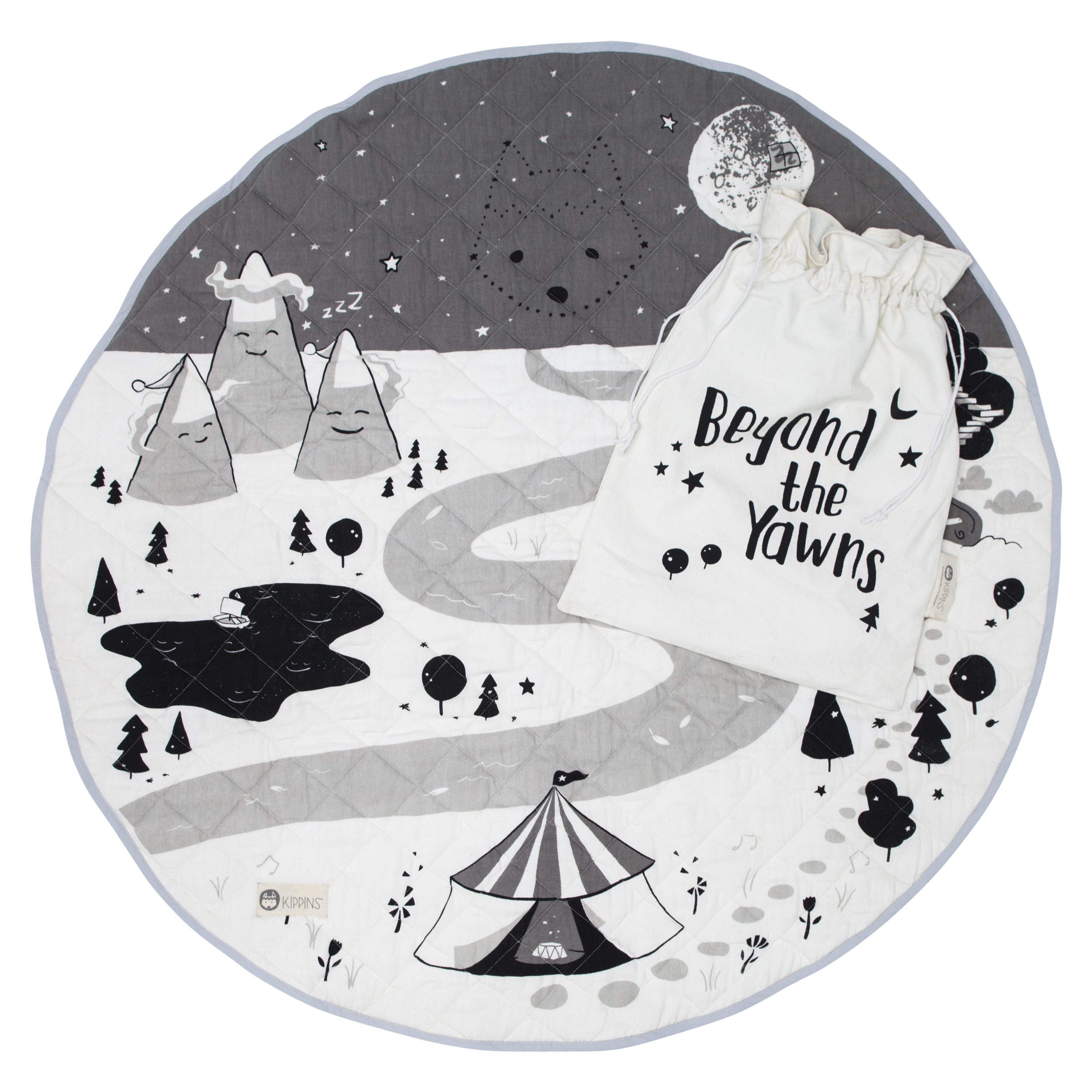 Kippi Organic Cotton Play Mat - Night
