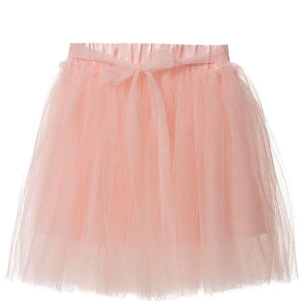 Britt Pink Sash Skirt
