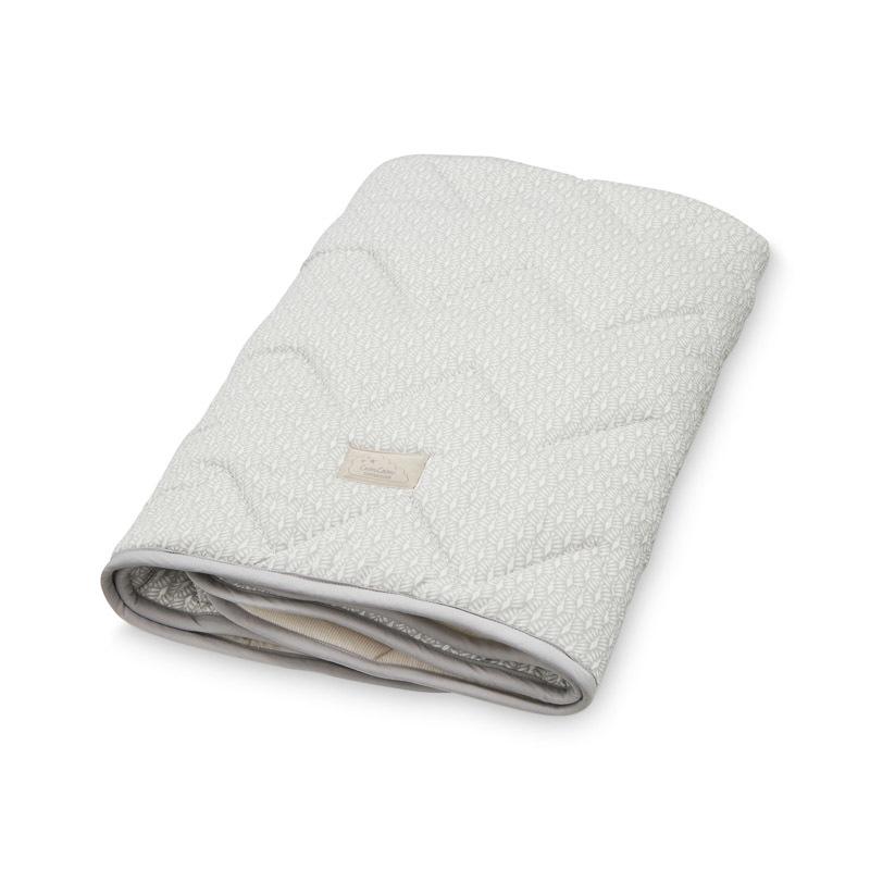 Cam Cam Grey Peacock Baby Blanket